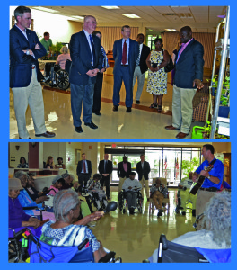 State partners visit A.G. Rhodes