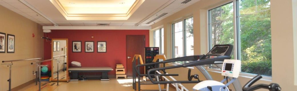 Therapy & Rehabilitation Gym at A.G. Rhodes Health & Rehab Cobb