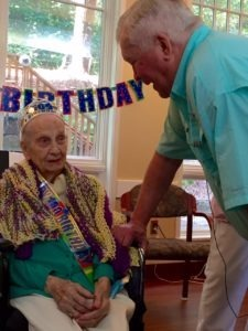 Ms. Beck 100th Birthday