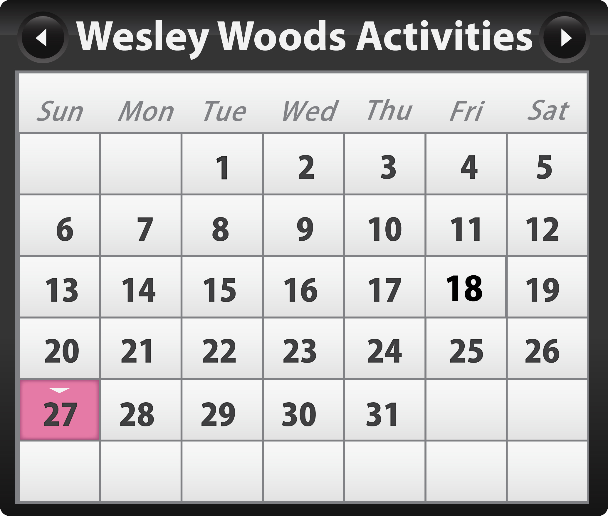 Senior Activities in Wesley Woods Atlanta