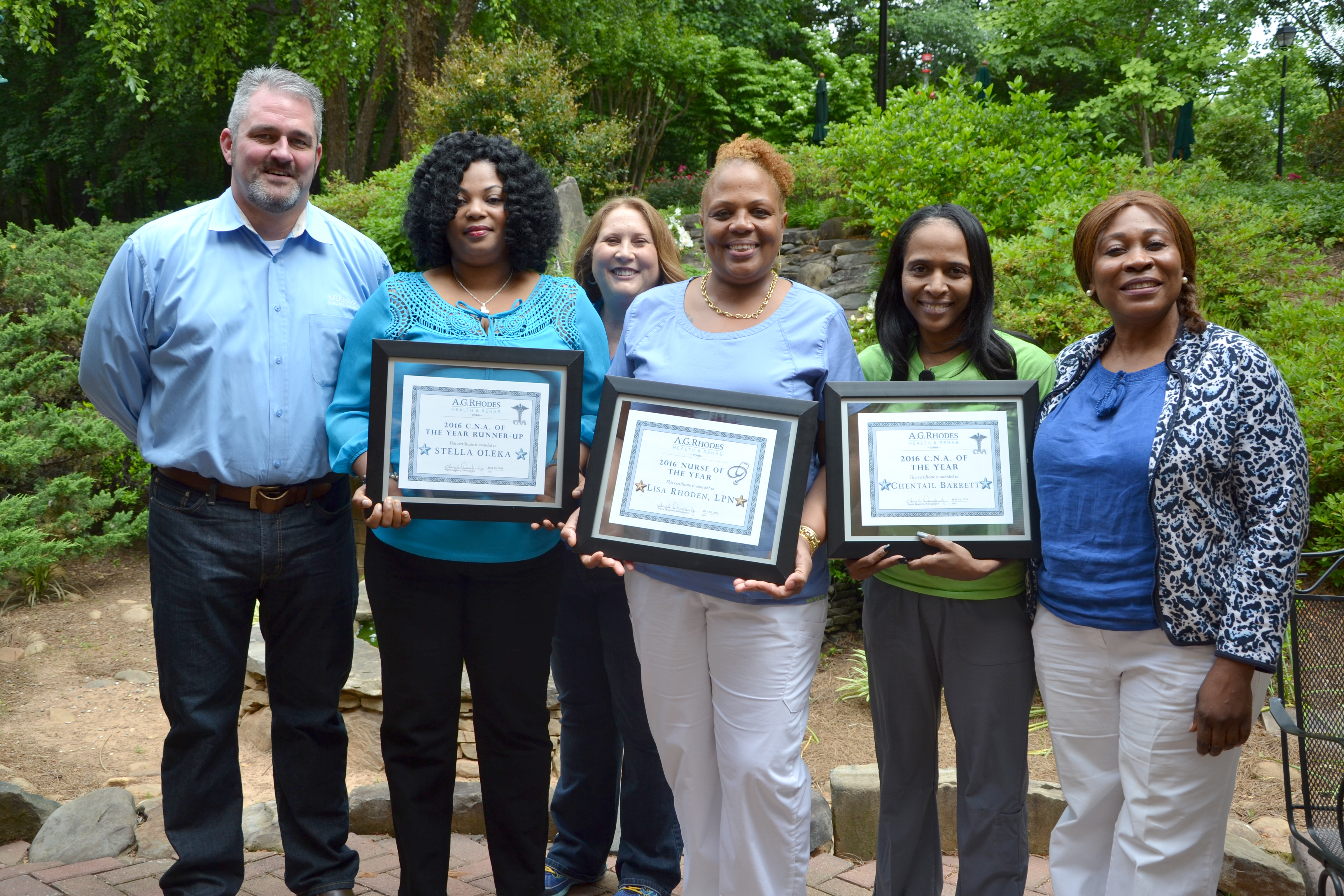 May 12, 2016 Exceptional Staff Honored During Nursing Home Week