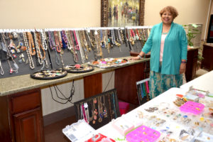 Arletta Brinson, the founder of the Jewels for Jewels event.