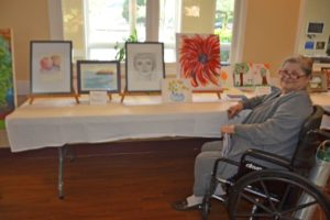 May 17, 2017-Art Show Highlights Talents of A.G. Rhodes Community, A.G. Rhodes