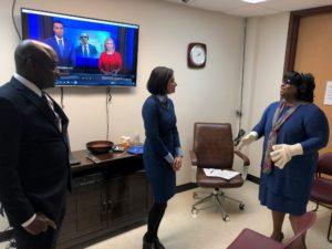 CMS Administrator visits A.G. Rhodes, A.G. Rhodes
