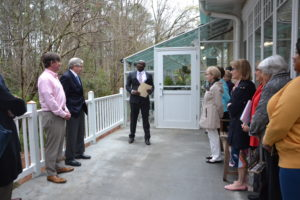 The Jane C. Schweers Memorial Greenhouse Dedication, A.G. Rhodes