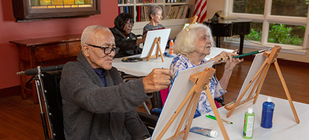 Paint Therapy for Seniors