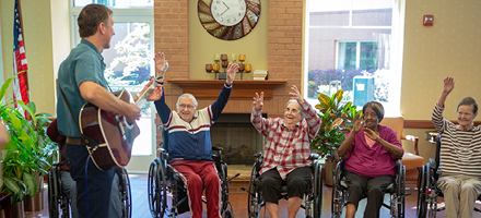 Music Therapy for Seniors in Atlanta
