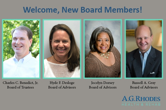 Welcome, New Board Members!, A.G. Rhodes