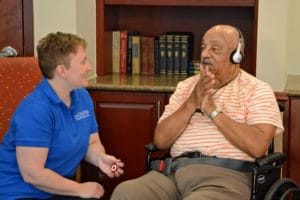 It's Music to the Ears for Seniors at A.G. Rhodes, A.G. Rhodes
