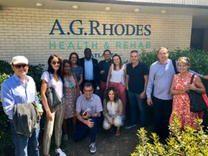 A.G. Rhodes Shares Best Practices with Spanish Colleagues, A.G. Rhodes