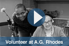 Become a Volunteer, A.G. Rhodes
