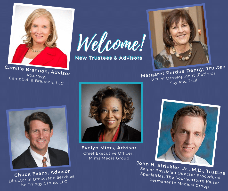 Welcome, new board members!
